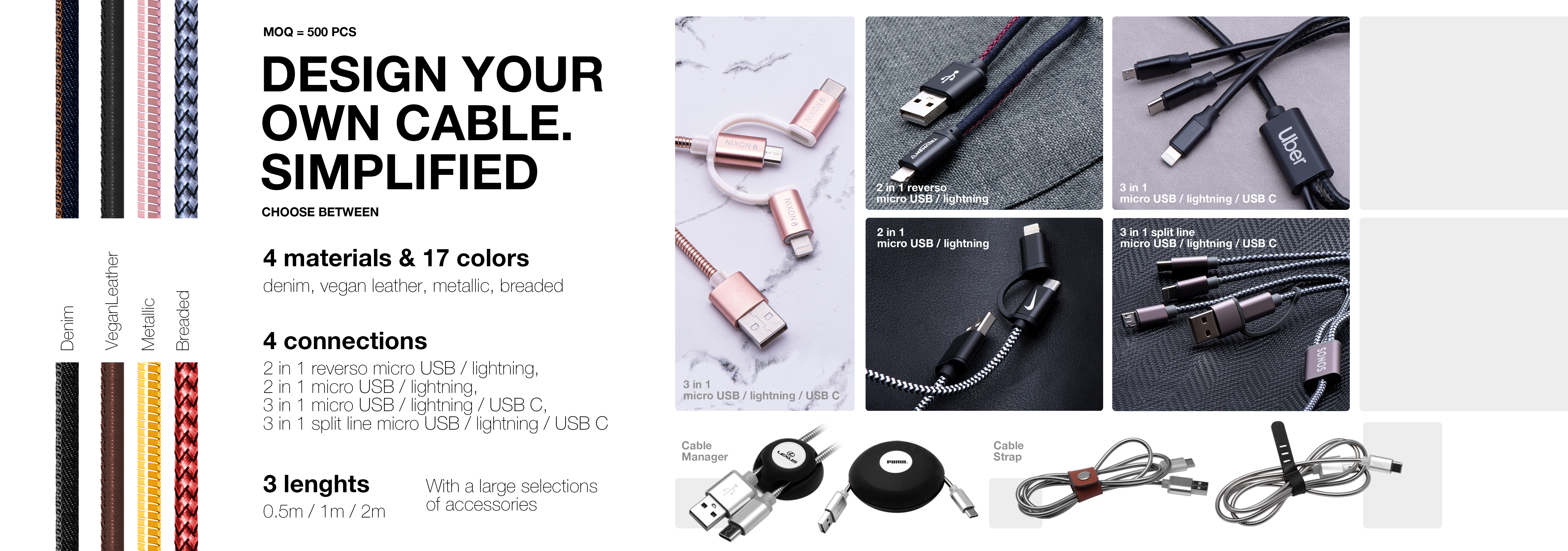 DESIGN YOUR OWN CABLE