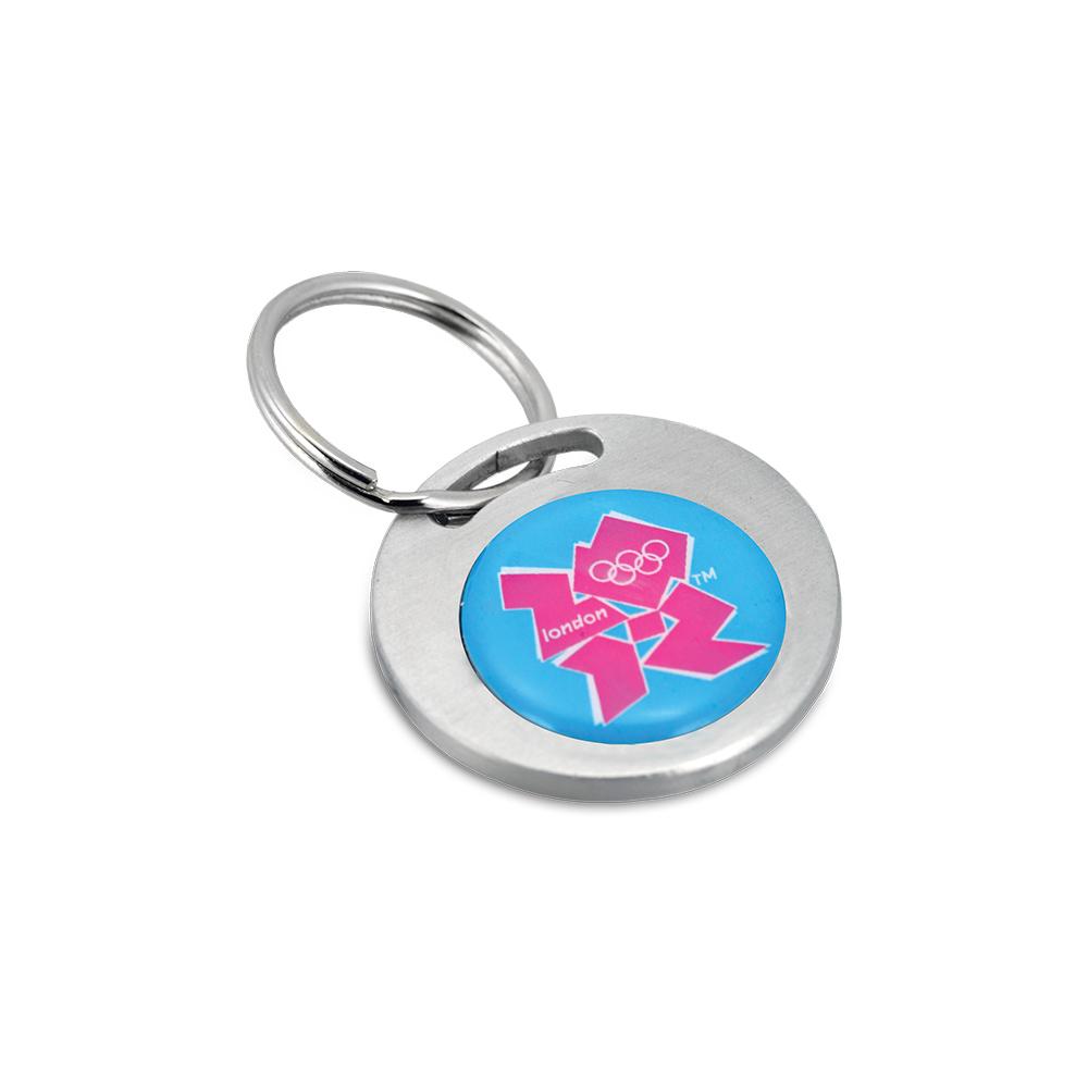 BND45 Round, aluminum key ring