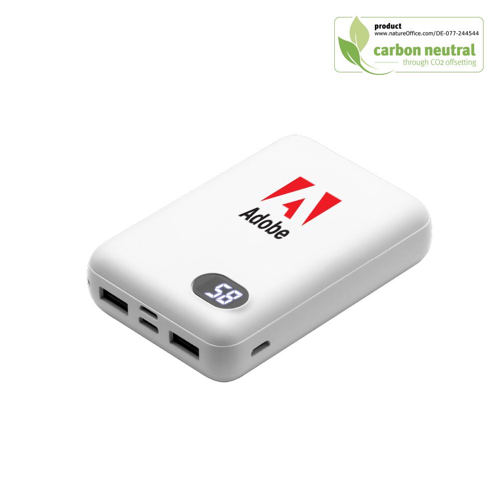BND118 Zeta 10,000mAh power bank (Li-poly), ABS/PC