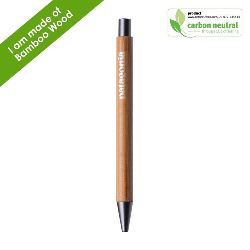 BND188 PAR Bamboo, bamboo wood ball pen / stylus