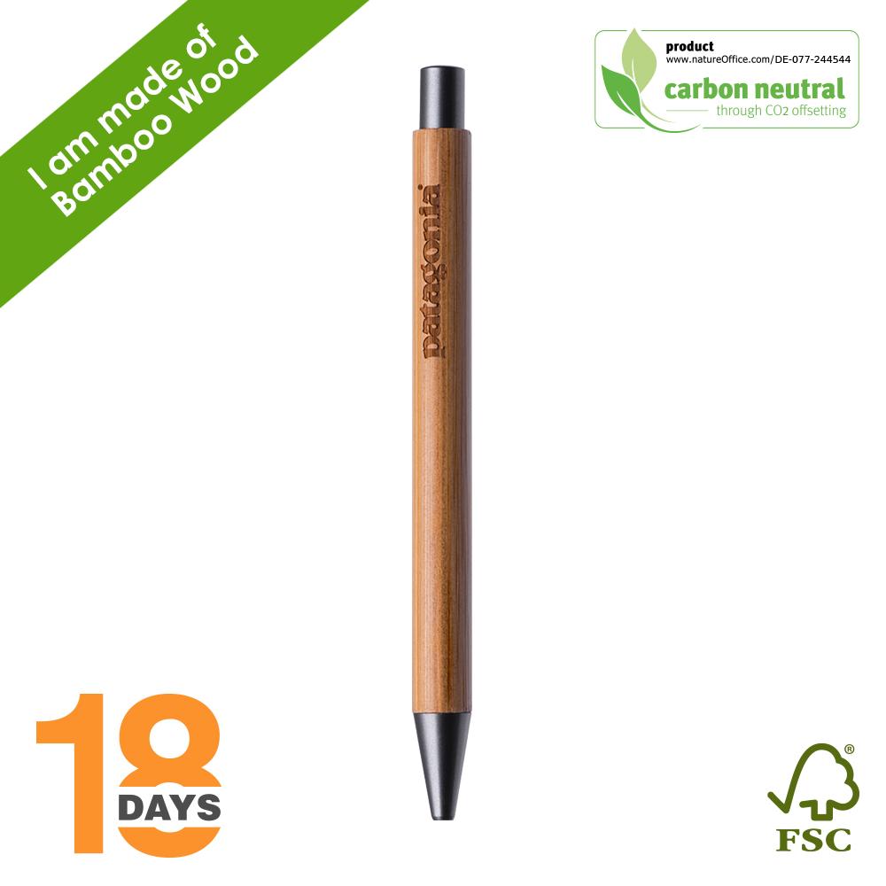 BND188 PAR Bamboo, bamboo ball pen *STOCK*