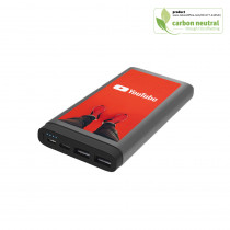 BND116 Gamma 10,000mAh power bank (Li-poly), Metal