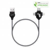 BND218 LipaNoi, 3 in 1 charging and data cables