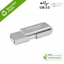 BND21 Clip, USB3.0 memory flash drive Recycled ABS