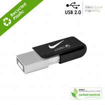 BND21 Clip, USB2.0 memory flash drive Recycled ABS