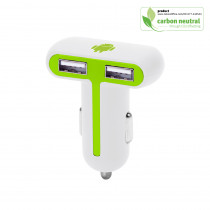 BND402 Bis, Dual USB Car charger