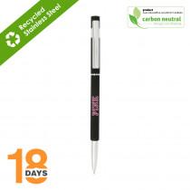 BND70 Hex, THIN twist metal ball pen *STOCK*