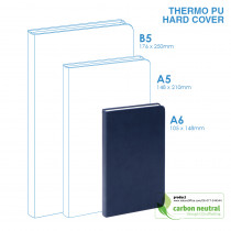 BND720 Small Notebook | PU HARD Cover