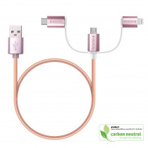 BND850 Elio, Metallic charging and data sync cable