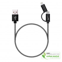 BND851 Ano, braided charging and data cable