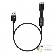 BND853 Inuendo Vegan leather charging & data cable